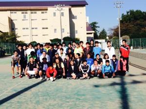 男子テニス部2014