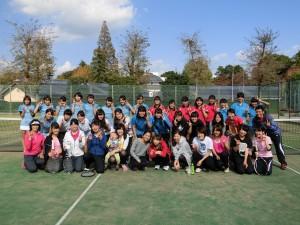 女子テニスOG会2015