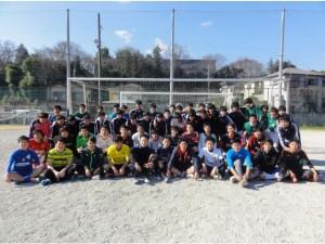 中学サッカーOB会2016